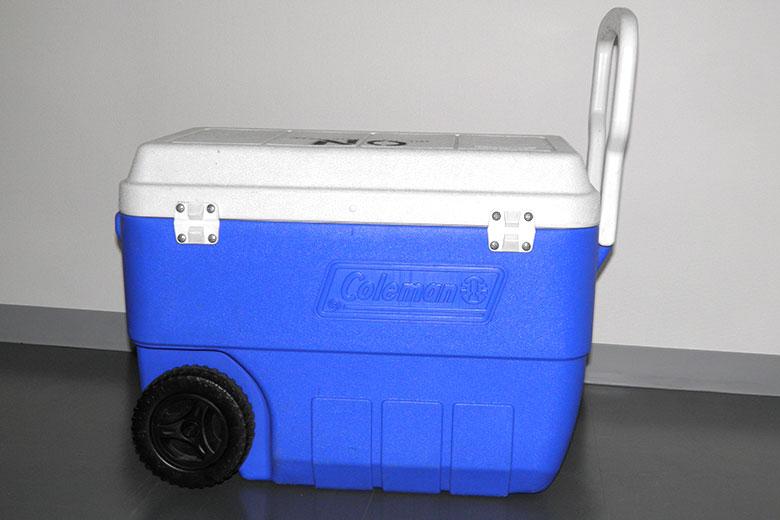 ロケ用レンタル備品「クーラーボックス(小) 容量約66L」
