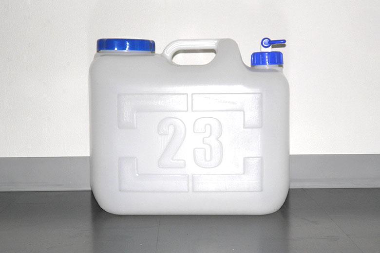ロケ用レンタル備品「水タンク(23L)」